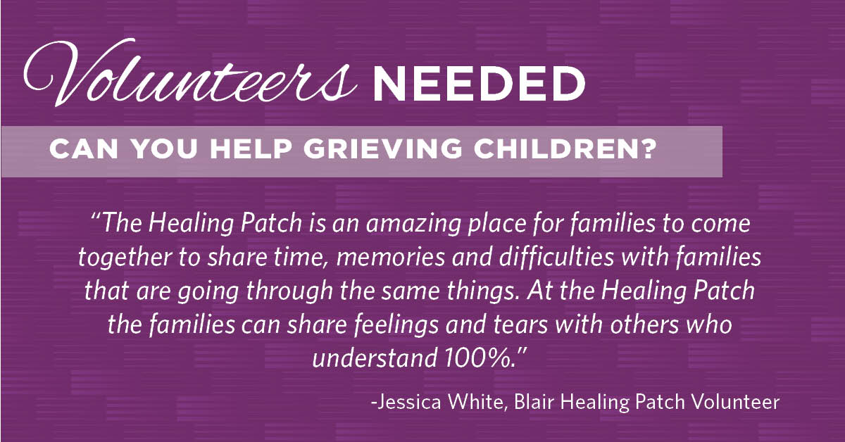 Volunteers Needed at the Healing Patch
