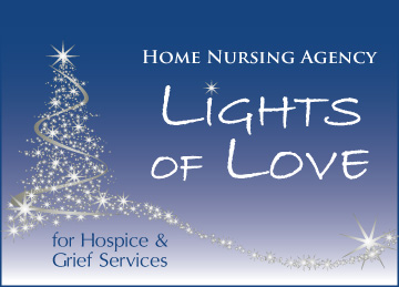 Lights of Love to support hospice and grief services